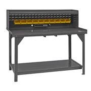 """DURHAM MFG DWB-3060-BE-RSR-95 Workbench,Steel,60"""" W,30"""" D"""