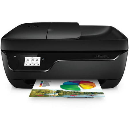 HP Officejet 3830 All-in-One Printer/Copier/Scanner/Fax Machine Bundle with paper, 100 sheets