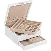 Best Jewelry Boxes - SONGMICS Jewelry Box, 3 Layers Jewelry Organizer Review