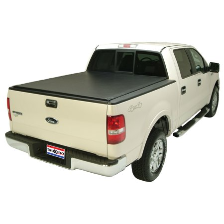 Truxedo 578101 Tonneau Cover Lo Pro QT (R) Soft Roll-Up Velcro; Lockable Using Tailgate Handle Lock; Black; Vinyl - image 2 of 2