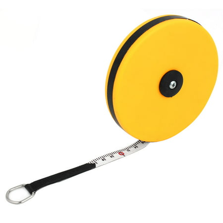 Retractable Fiberglass Tape Measure - Unique Bargains 65-Foot Retractable Metric Soft Fiberglass Tape Measure