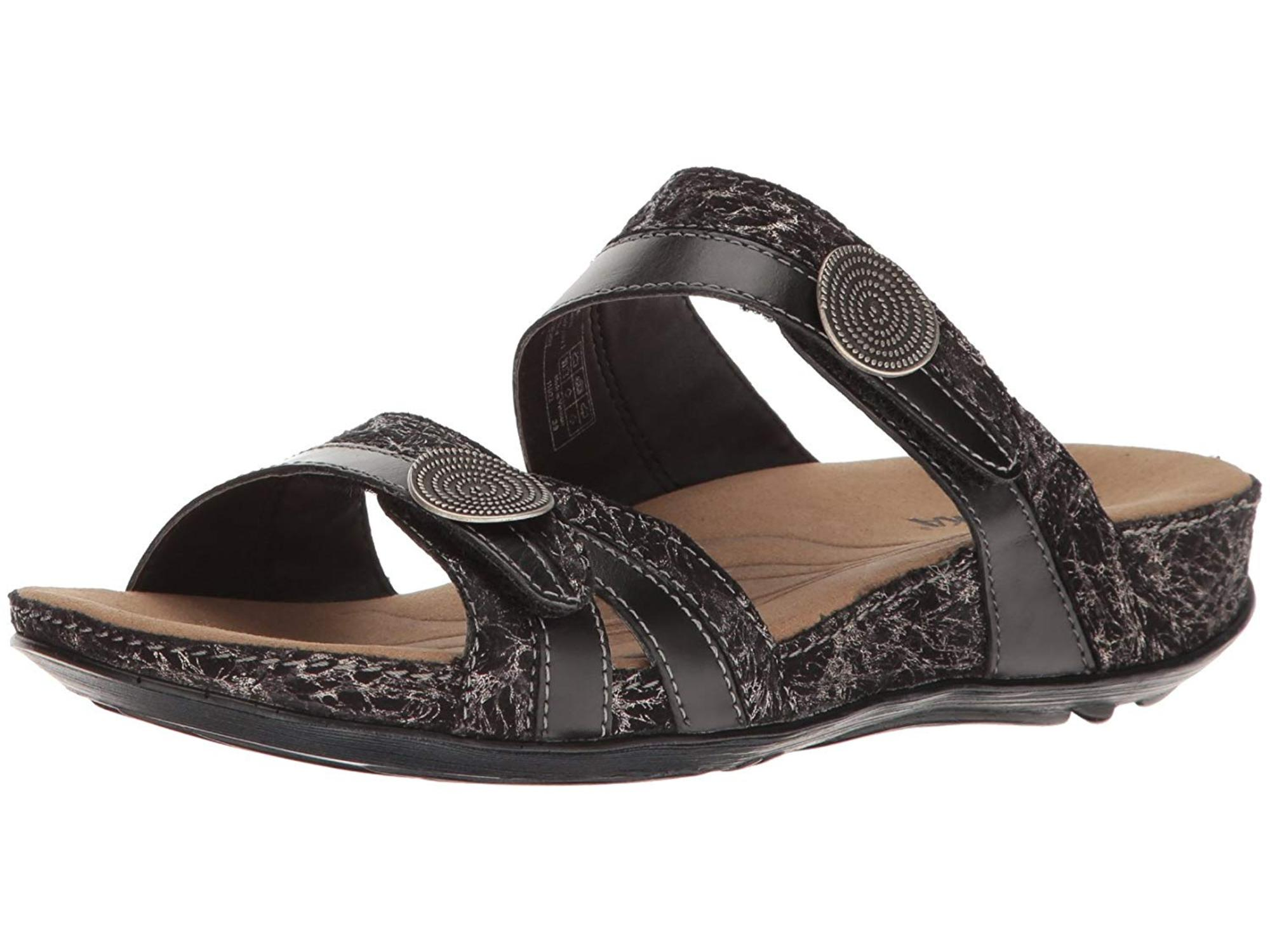 b2f5c06b9445 Romika Womens Fidschi 22 Leather Open Toe Casual Slide