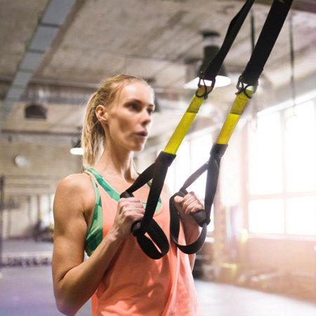 YLSHRF Yoga Fitness Resistance Bands Pull Rope Workout Hanging Belt Suspension Equipment, Fitness Tool,Fitness Strap