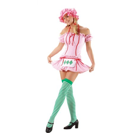 Strawberry Doll Women's Adult Halloween Costume](Strawberry Costumes)