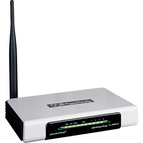 TP-Link TL-WR541G 54Mbps eXtended Range Wireless Router