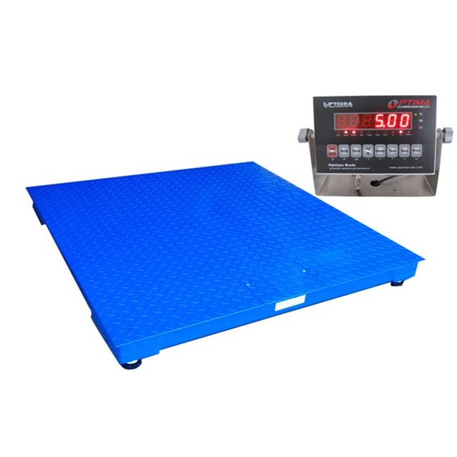 Optima Scales OP-916SS-3x3-5 NTEP Heavy Duty Pallet Scale - 3 x 3 ft., 5000 x 1 lb.
