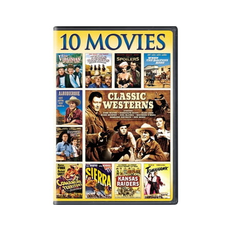 Best Classic Movies For Halloween (Classic Westerns: 10 Movie Collection)