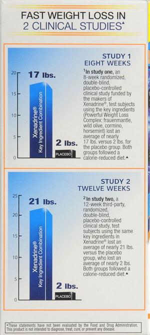 Xenadrine Powerful Weight Loss 60ct Walmart Com