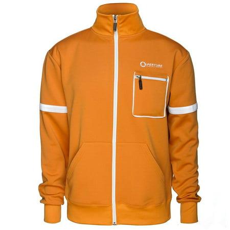 Portal 2 Aperture Test Subject Men's Premium Track Jacket