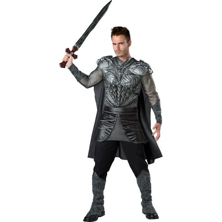 Men's Dark Medieval Knight Costume (Medieval Woman Costume)