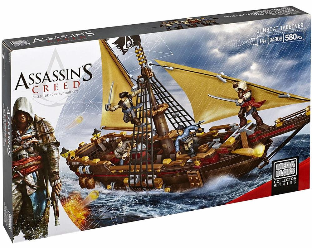 Mega Bloks Assassin's Creed Gunboat Takeover by Mattel