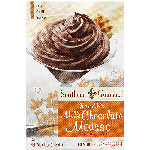 e Milk Chocolate Mousse Premium Mix, 4 oz, (Pack of 6)