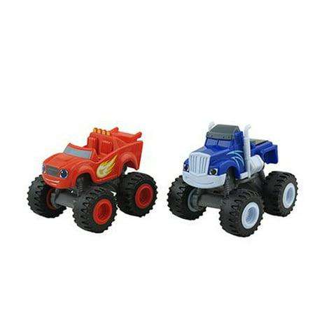 Fisher-Price Nickelodeon Blaze and the Monster Machines Monster Dome Playset - Replacement Trucks CGC92 (Quarter Machine Toys)