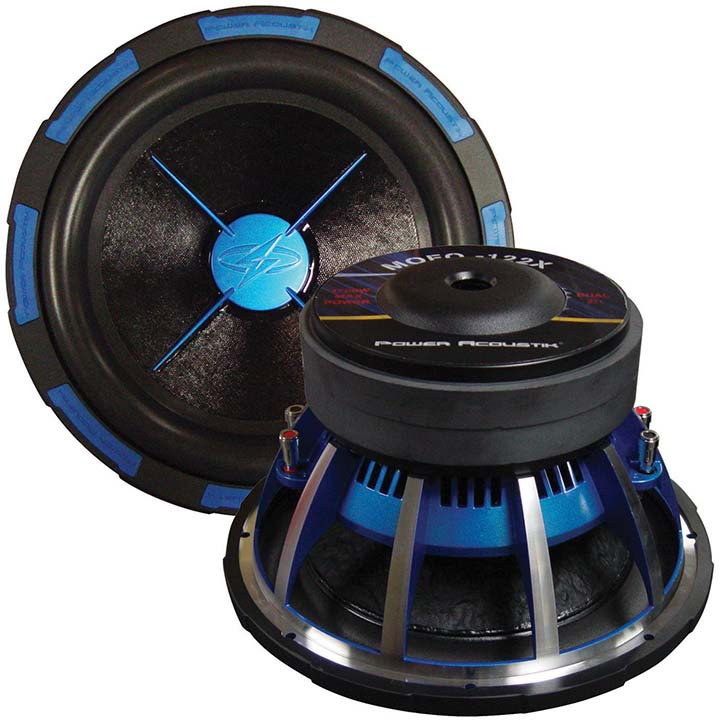 "Power Acoustik MOFO-104X MOFO-X Series 10"" 2,400-Watt Subwoofer (Dual 4 Ohm )"