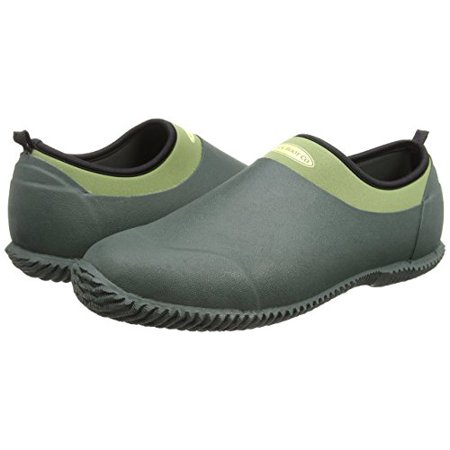 The Original MuckBoots Unisex Waterproof Garden Green Daily Garden Shoe (3 Men's / 4 Women's) (Green Clown Shoes)