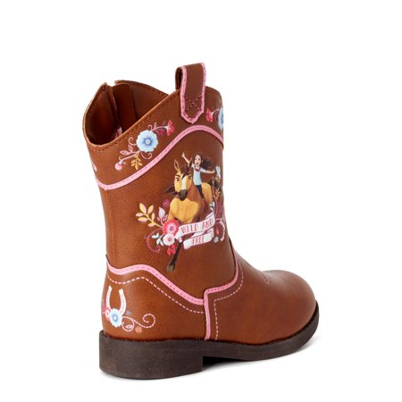 Spirit Riding Free Western Character Cowboy Boot (Toddler Girls)