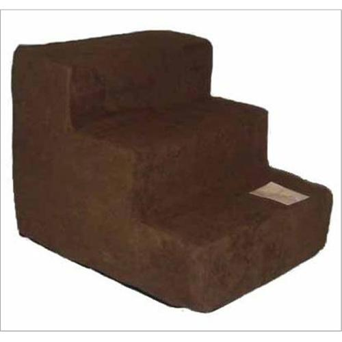 Pet Steps in Dark Brown (4 steps: 24 L x 15 W x 19 H (10 lbs.))