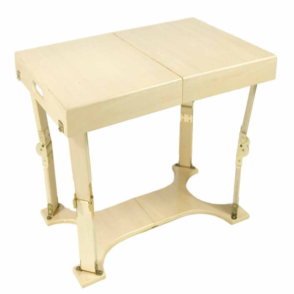 Spiderlegs CCT1828-GO Hand Crafted & Custom Finished Folding Coffee Table in Golden Oak