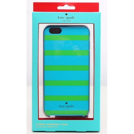 Kate Spade New York - Kinetic Stripe Hybrid Hard Shell Case for Apple iPhone 6 Plus and 6s Plus - - Kate Spade Stripes