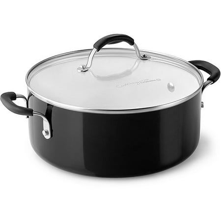 Cooking With Calphalon Ceramic Non Stick 5 Quart Chili Pot With Lid