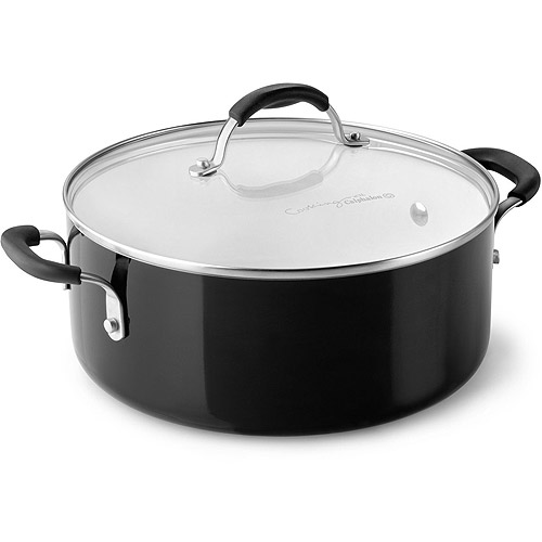 cooking with calphalon ceramic nonstick 5quart chili pot with lid