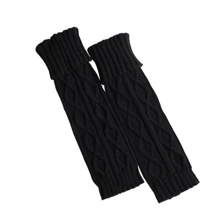 Women Leg Warmers Acrylic Crochet Knitted Soft Elastic Boot Socks Sleeve](Cheap Furry Leg Warmers Boot Covers)