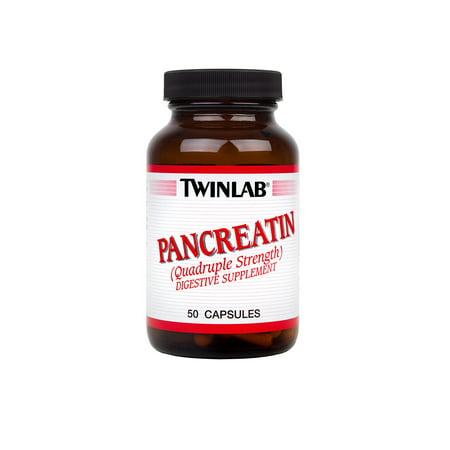 - Twinlab Pancreatin Capsules, 50 Ct