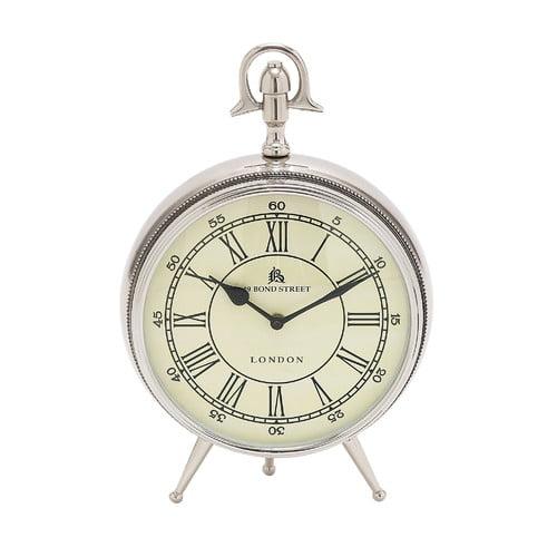 Bond Street Clock in Brass Finish by Woodland Imports