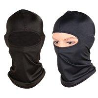 GLiving  Outdoor Travel and Motorcycle Bike Helmet Wind-Resistance Full Face Sport Mask for Ski/Driving/out door Sport Unisex  Black