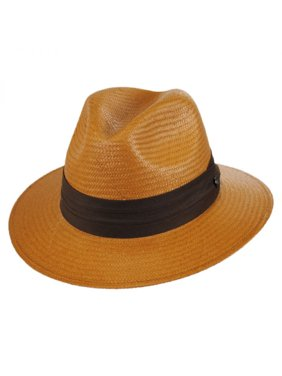 Product Image Augusta Toyo Straw Safari Fedora Hat - XL - Tan 782bece525c