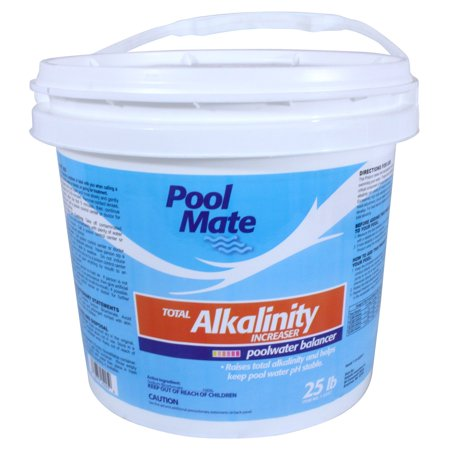 Total Dissolved Solids Pool Water (Pool Mate Total Alkalinity Increaser for Swimming Pools, 25-Pounds Bucket )