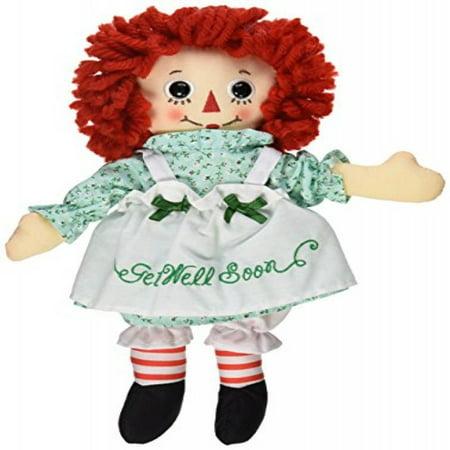 Aurora World Raggedy Ann Get Well Soon Doll, 10