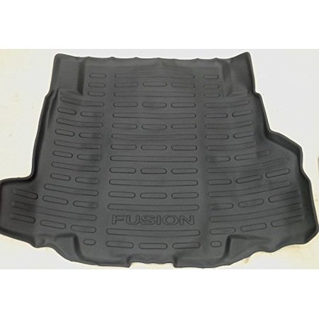 Black Ford Fusion (Oem Factory Stock Genuine 2007 2008 2009 2010 2011 2012 Ford Fusion Black Rear Back Cargo Trunk Weather Liner Mat)