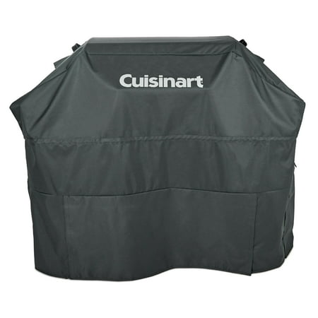 Cuisinart® Heavy-Duty Barbecue Gray 4-5 Burner Gas Grill Cover - UV Protected, Wind and Water Resistant