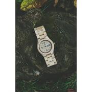Wood craft- Wood art - Wood wristwatch-Wooden watch-Handmade watch-Anniversary gift -Men's- Women's watch - Unisex watch- Personal Message Laser Engraving - Alpha II Series 2
