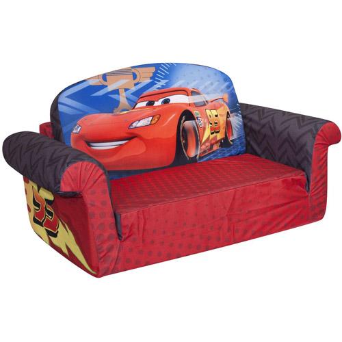 Marshmallow 2in1 Flip Open Sofa Disney Cars 2 Walmartcom