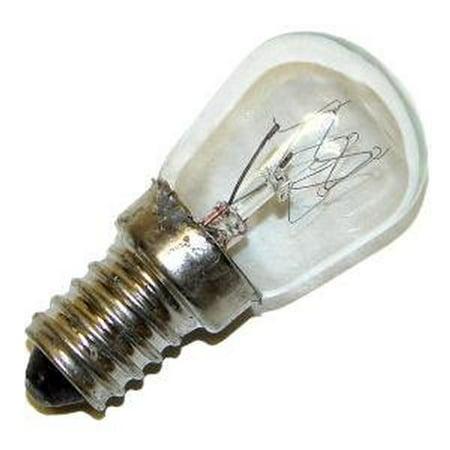 Damar 15145   15Wpr 125V E14  Mol 2 1 8In European Screw Base Exit Light Bulb