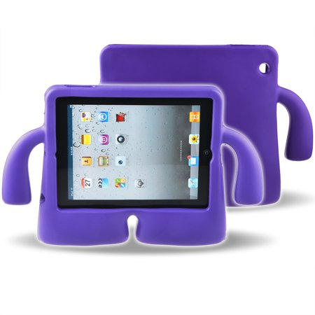 ABLEGRID Shock Proof iPad Case for Kids Bumper Cover ... Ipads For Kids At Walmart