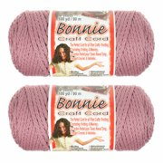 2 Pack Bonnie Macrame Cord - 4mm - 100 yd Lengths - Various Colors
