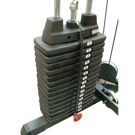 - Body Solid Optional 150 lbs. Weight Stack