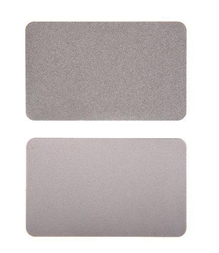 EZE-LAP 210 Credit Card Size Diamond Sharpening Stone Set SF M Multi-Colored by EZE-LAP