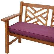 Mozaic Company Sunbrella Corded Indoor/Outdoor Bench Cushion - 4 or 5 ft. Option