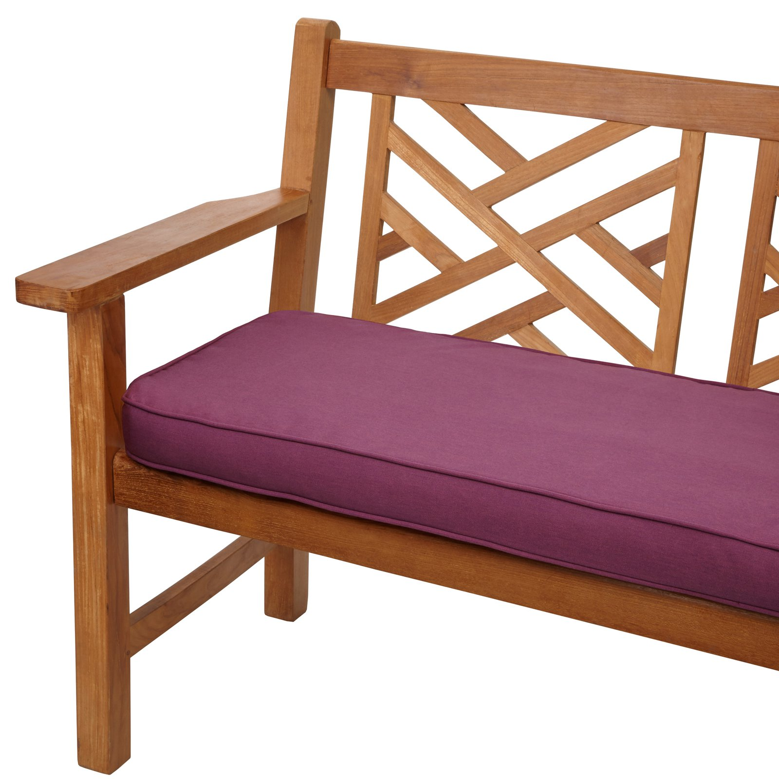 Mozaic Company Sunbrella Corded Indoor/Outdoor Bench Cushion - 4 or 5 ft. Option