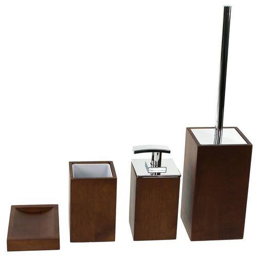 Gedy by Nameeks Papiro 4-Piece Bathroom Accessory Set