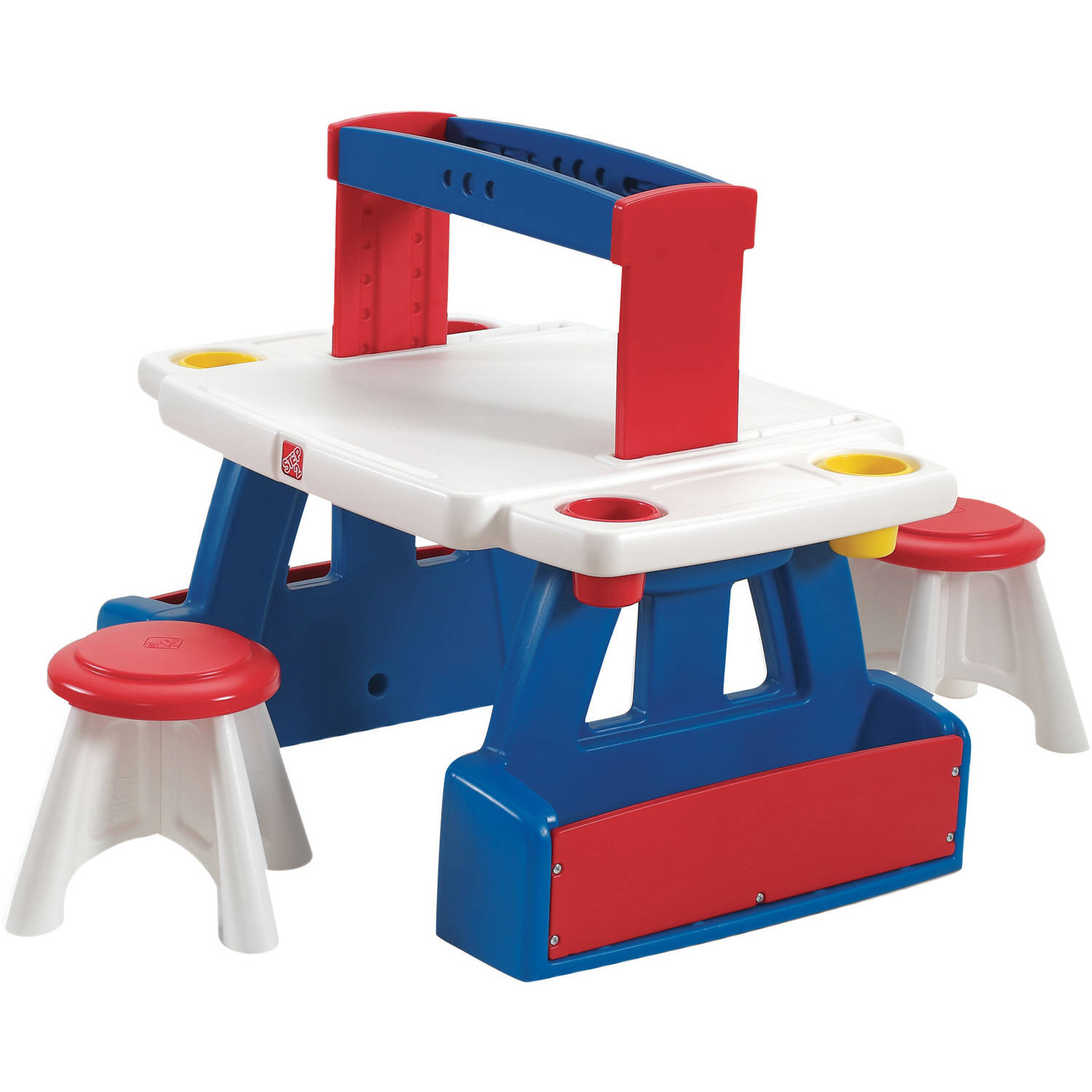 Step2 Creative Projects Table Includes Two Stools