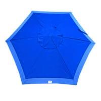 7 foot Deluxe Beach Umbrella and Patio Umbrella UPF100 - Market Style