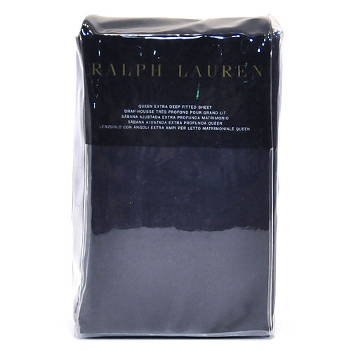 Ralph Lauren Extra Deep Fitted Sheet - RL 464 Solid Percale