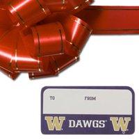Washington Huskies 3-Pack Team Gift Tag Sheets