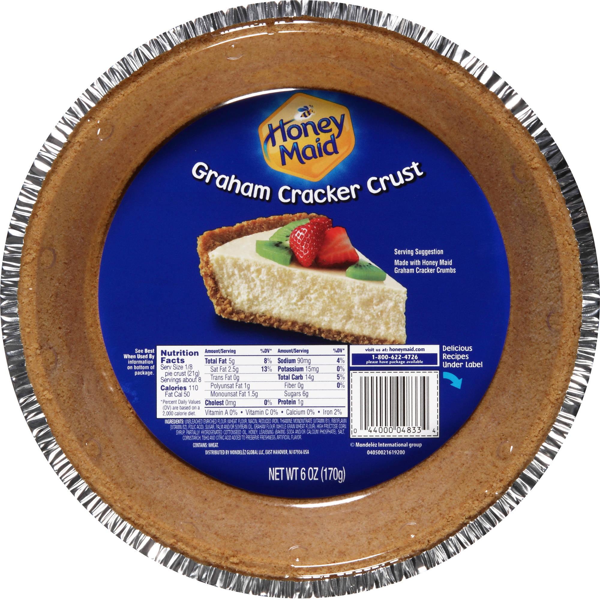 Nabisco Honey Maid: Pie Crust Graham, 6 Oz