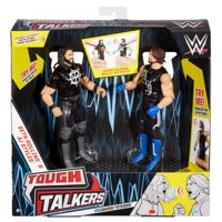 WWE Tough Talkers Seth Rollins & AJ Styles Figure 2-Pack